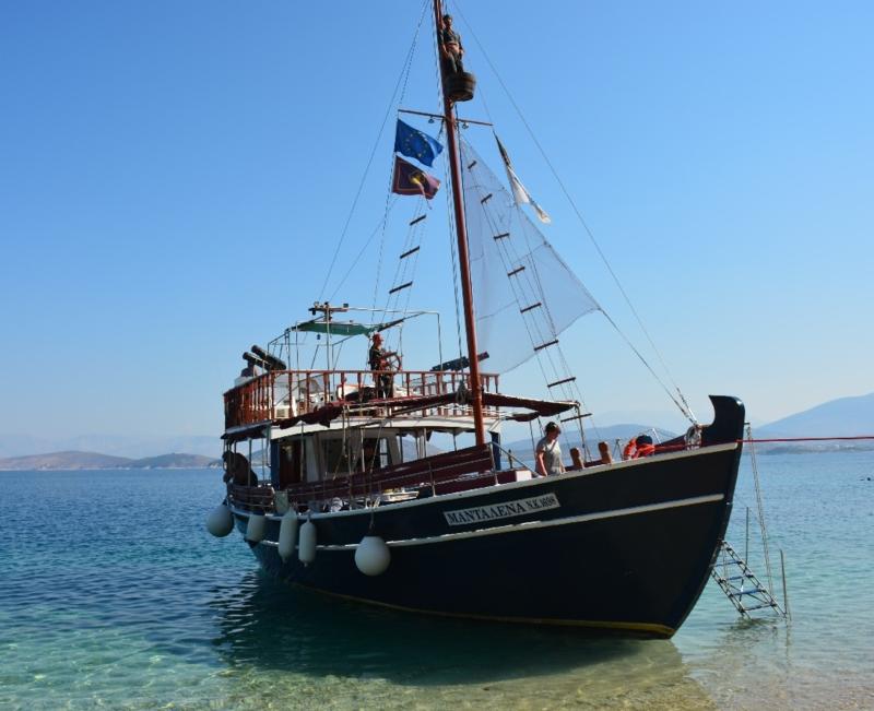 Rejs: statek Madalena